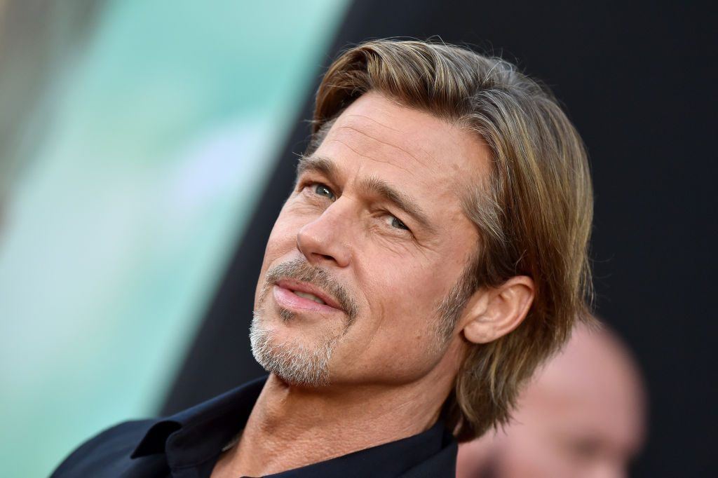 """Brad Pitt attends the Premiere of 20th Century Fox's """"Ad Astra"""" in Los Angeles."""