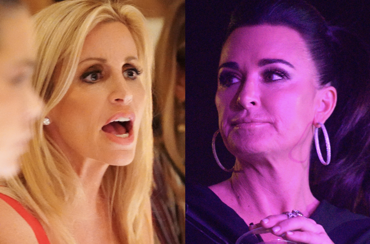 Camille Grammer and Kyle Richards