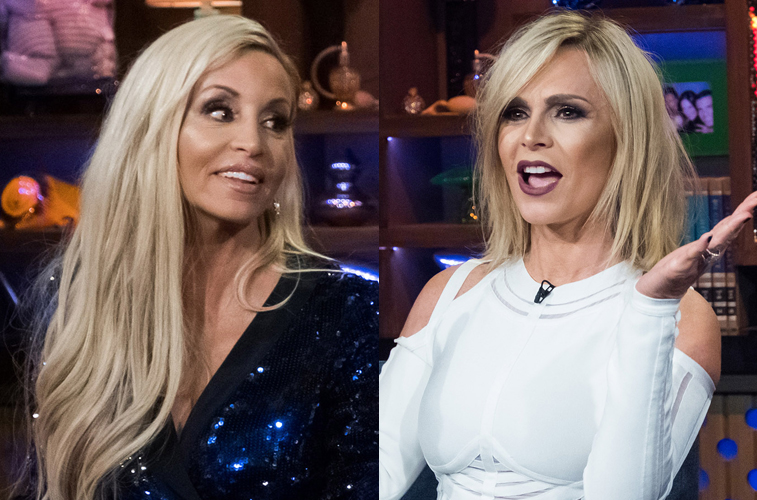 Camille Grammer and Tamra Judge