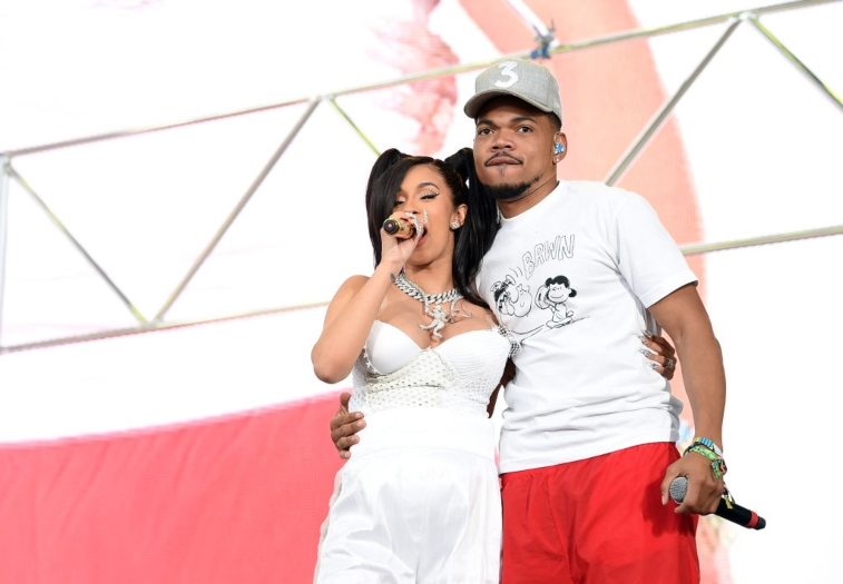 Cardi B and Chance the Rapper