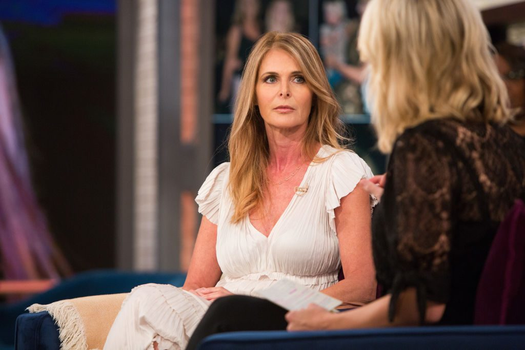 Catherine Oxenberg and Megyn Kelly
