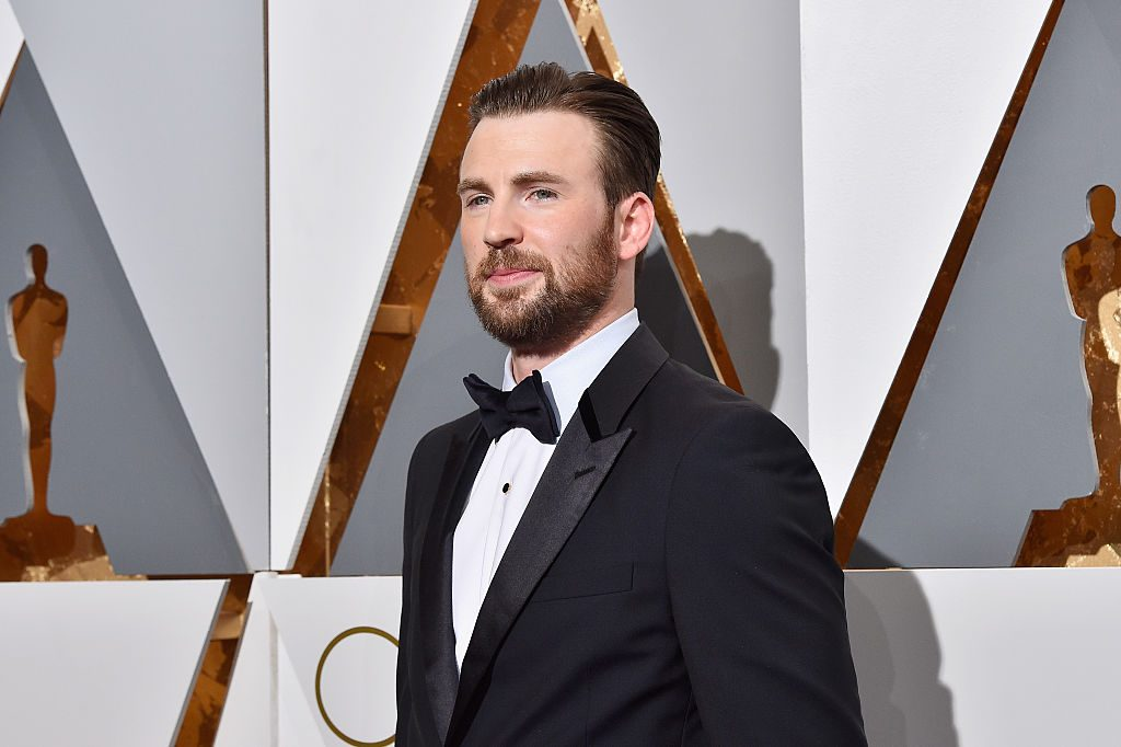 Chris Evans at the 88th Academy Awards.