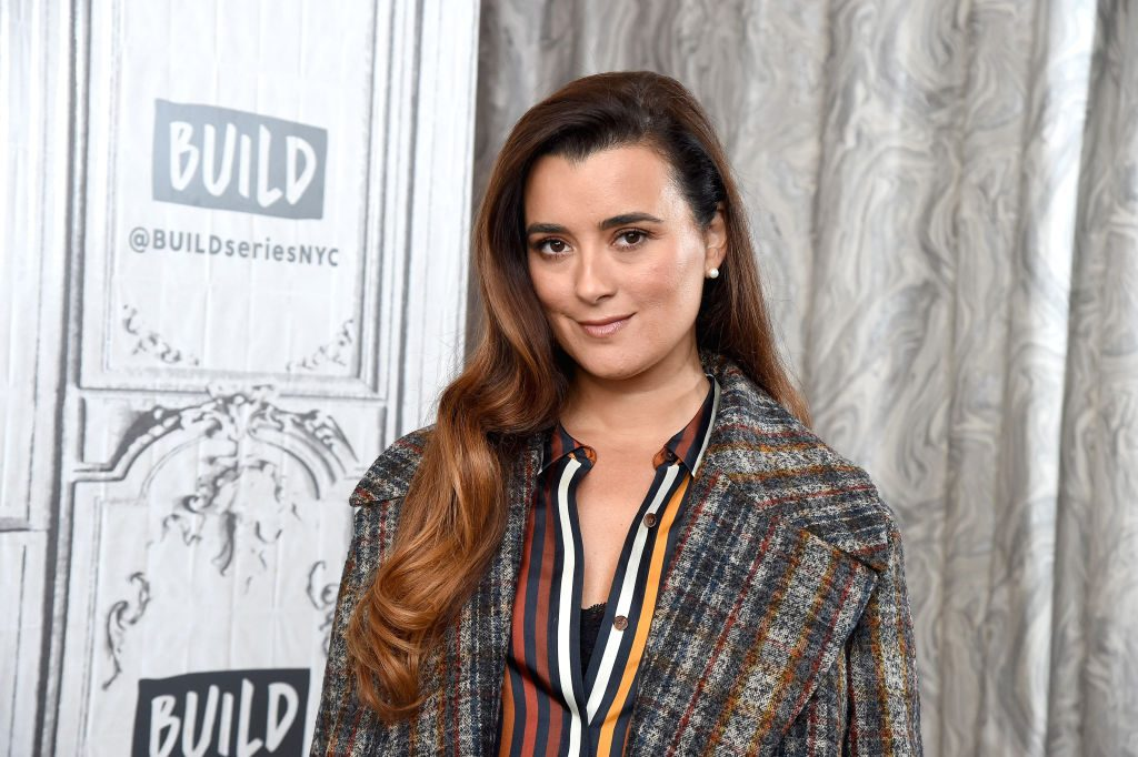 "Cote de Pablo visits the Build Series to discuss the CBS series ""NCIS"" at Build Studio in New York City."