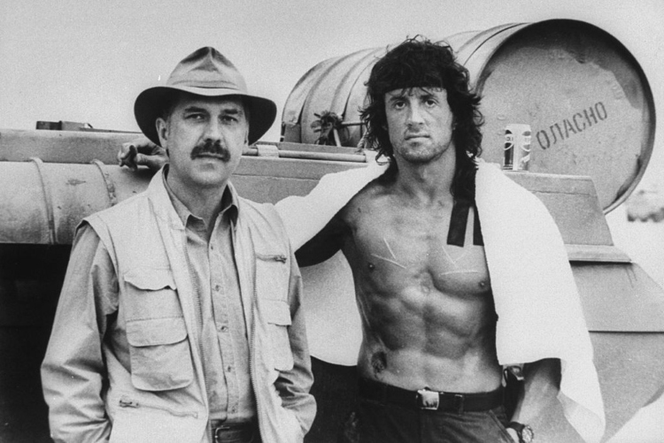 David Morrell and Sylvester Stallone