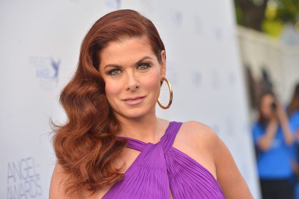 Debra Messing attends Project Angel Food's 2018 Angel Awards.