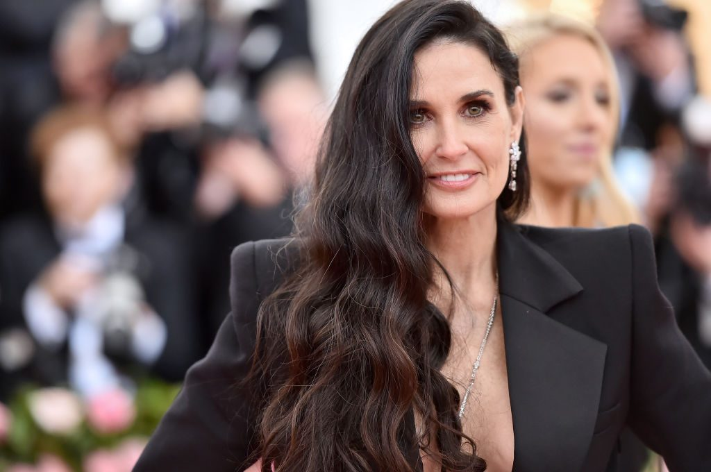 Demi Moore at the 2019 Met Gala celebration.