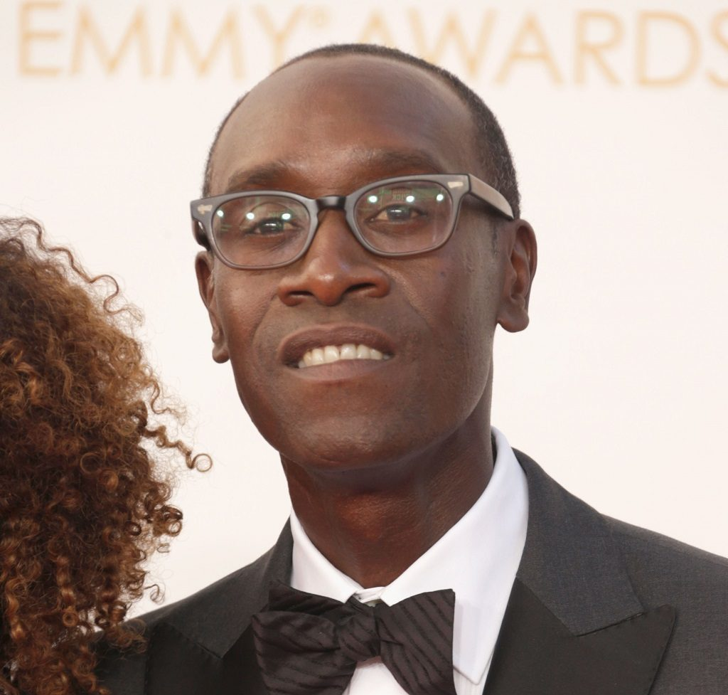 Don Cheadle at the 65th Primetime Emmy Awards on September 22, 2013