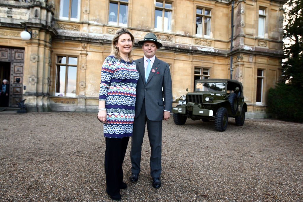 The Earl and Countess of Carnarvon
