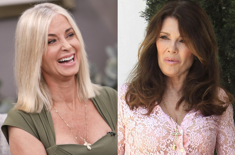 Eileen Davidson and Lisa Vanderpump