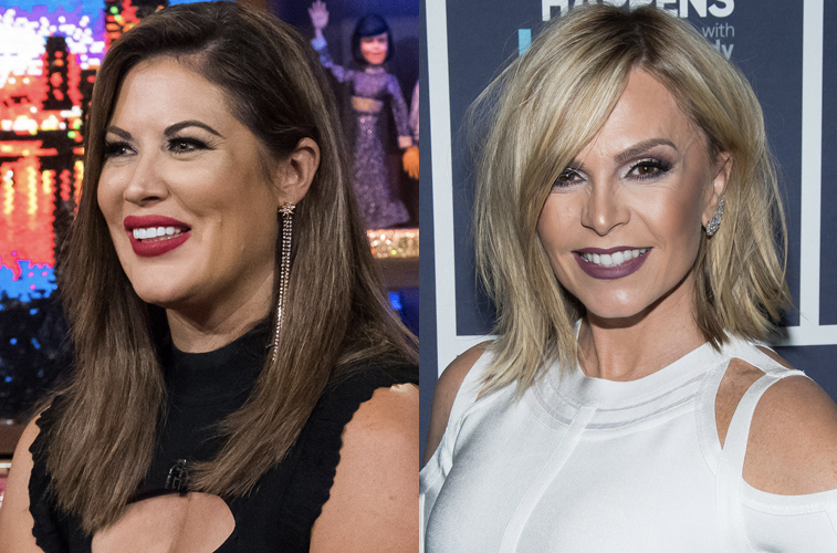 Emily Simpson and Tamra Judge from 'RHOC'