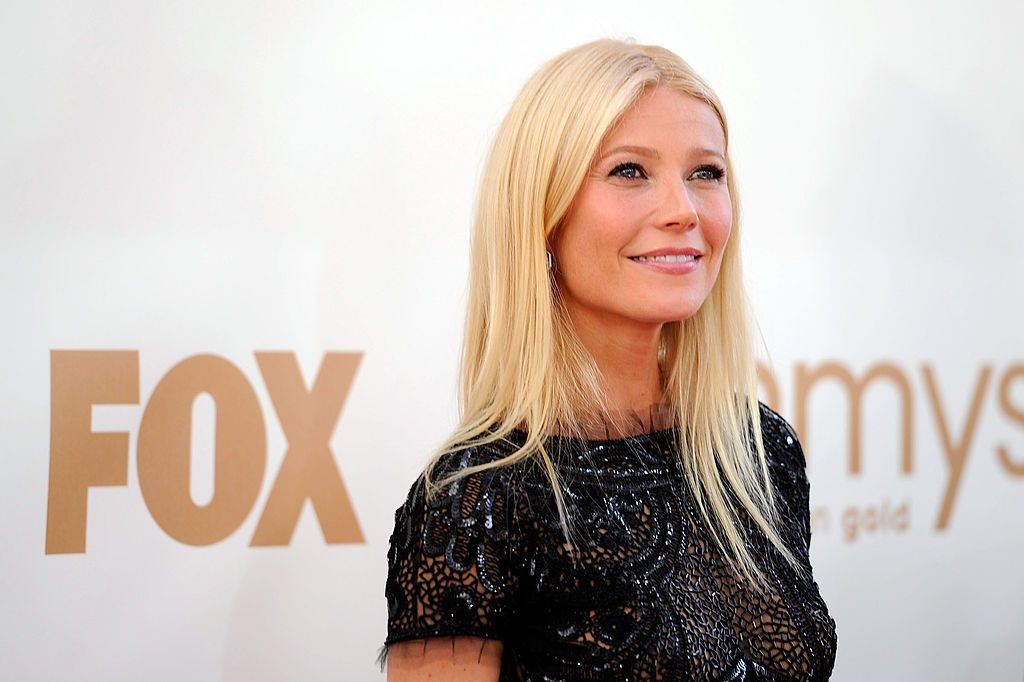 Gwyneth Paltrow at the 63rd Primetime Emmy Awards on September 18, 2011