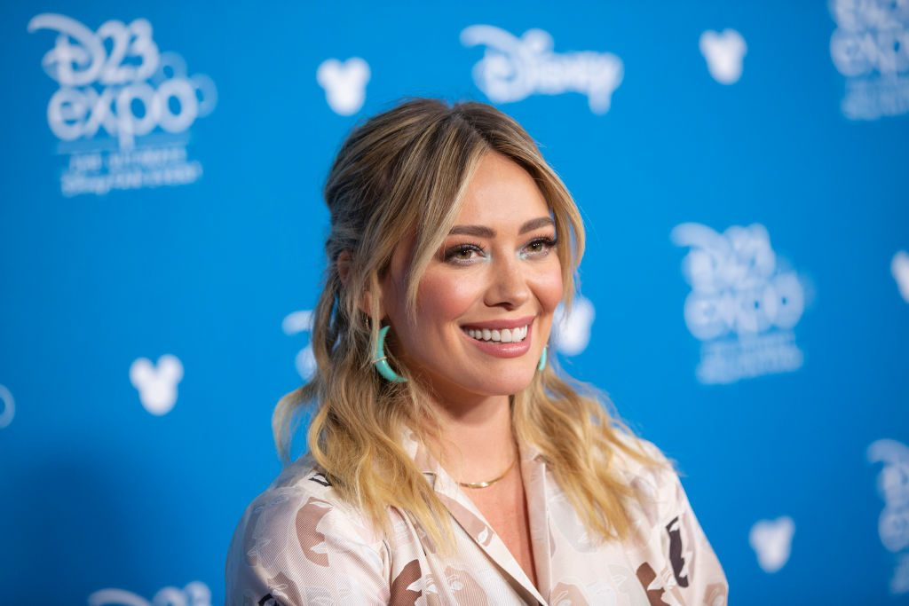 Hilary Duff at D23 EXPO 2019