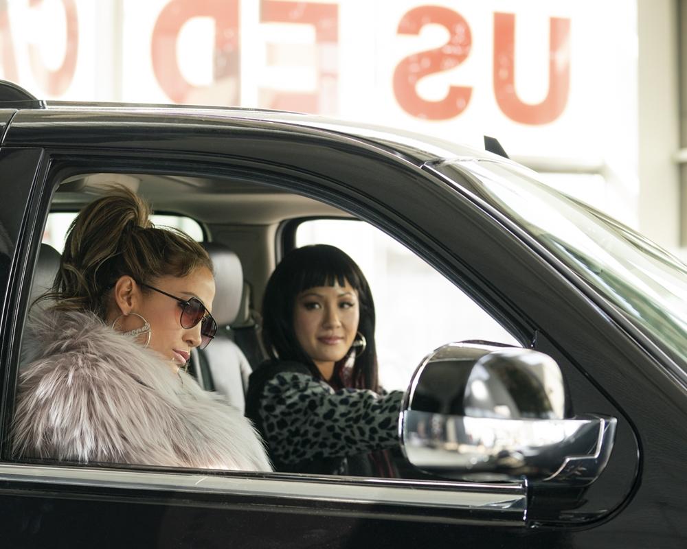 Jennifer Lopez & Constance Wu in Hustles
