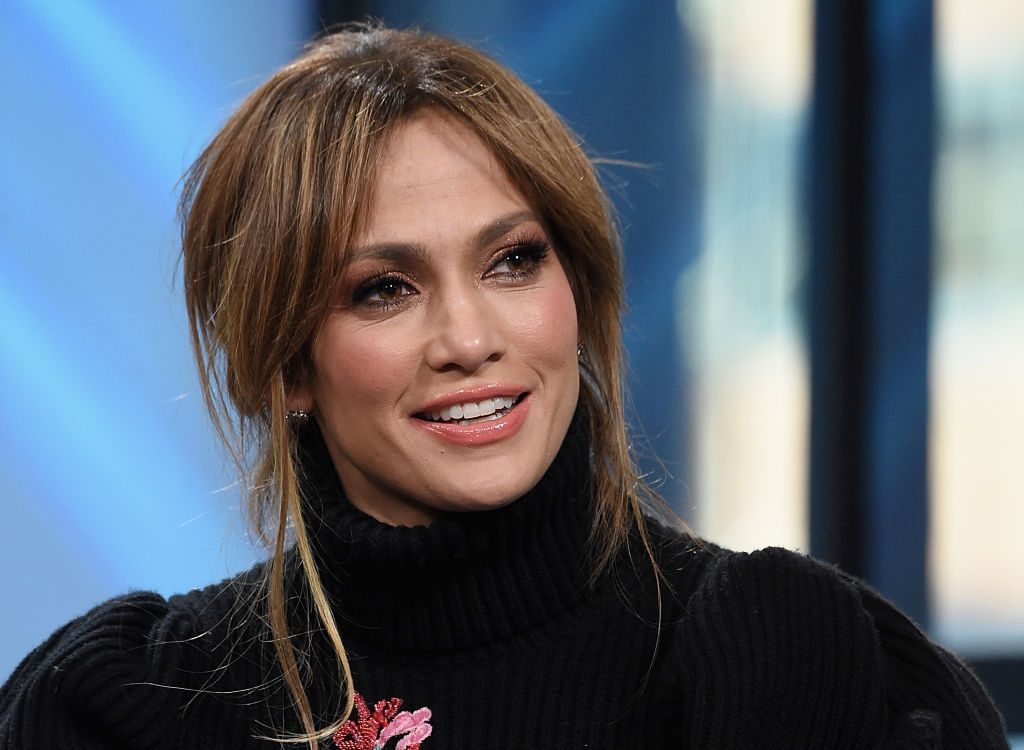 "Jennifer Lopez discusses ""Shades Of Blue"" at Build Studio in New York City."