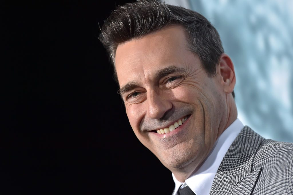 Jon Hamm at the premiere of Lucy In The Sky on September 25, 2019