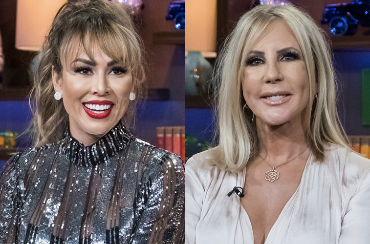 Kelly Dodd and Vicki Gunvalson from 'The Real Housewives of Orange County'