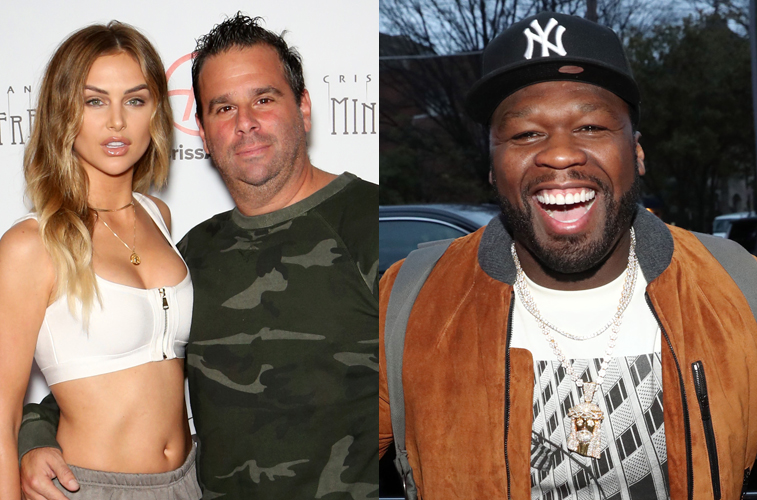Lala Kent and her fiancé, Randall Emmett, along with 50 Cent