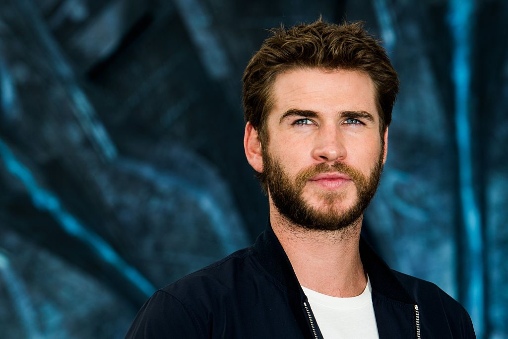 Liam Hemsworth at a promo photo call.