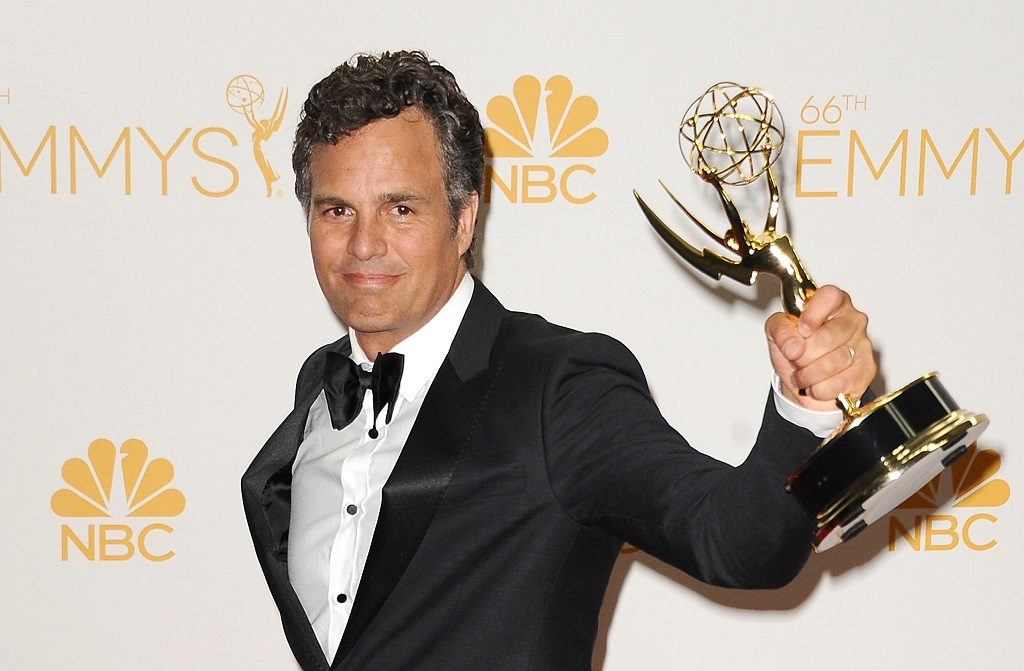 Mark Ruffalo at the 66th Primetime Emmy Awards on August 25, 2014