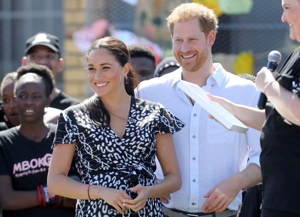 meghan markle prince harry africa archie name