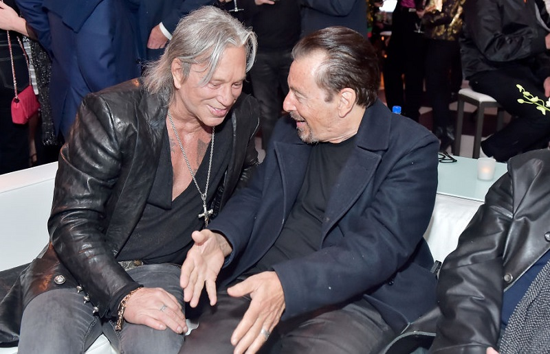 Happened mickey rourke to what The Time