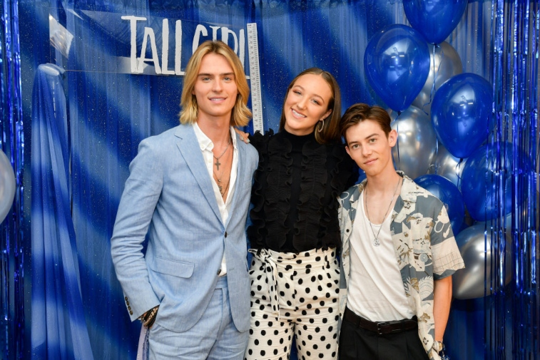 Luke Eisner, Ava Michelle, and Griffin Gluck from Netflix's 'Tall Girl'