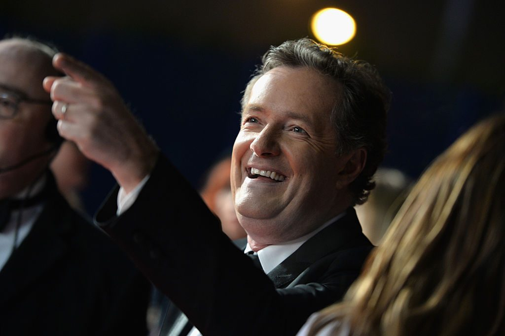 Piers Morgan attends the National Television Awards.