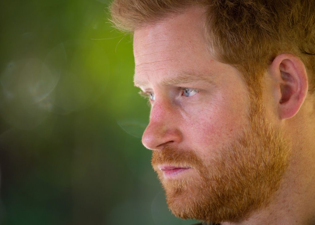 Prince Harry visits South Africa.