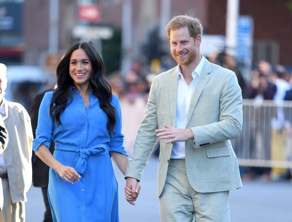 prince harry meghan markle baby archie africa tour