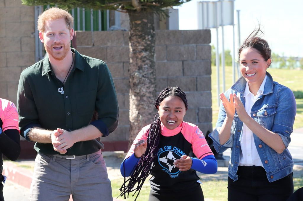prince harry meghan markle informal africa tour