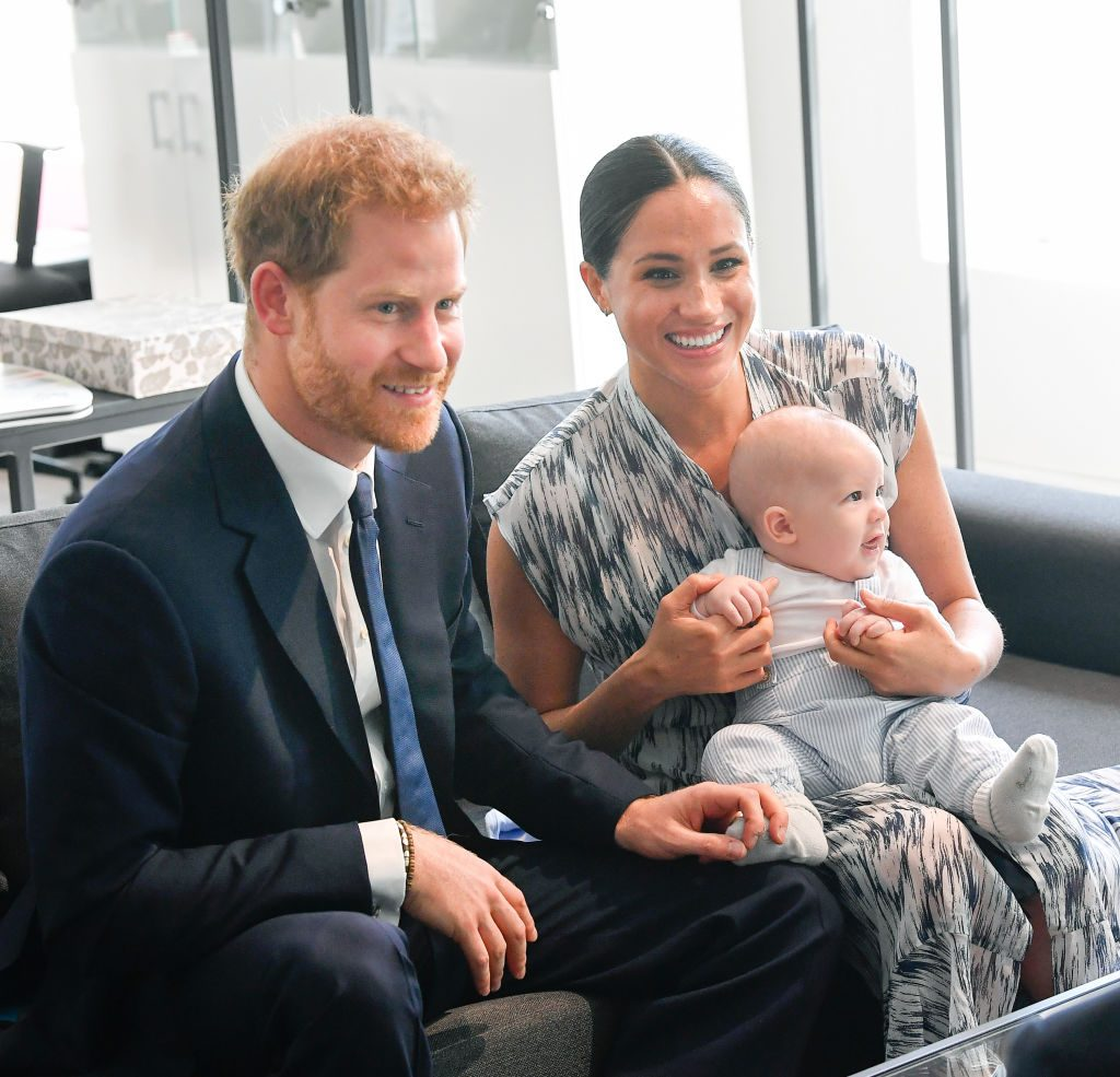 prince harry meghan markle nickname for Archie