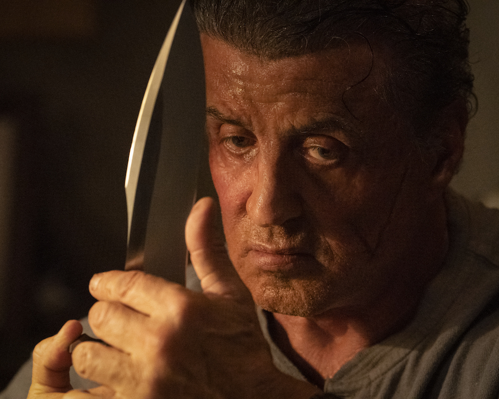 Stallone in Rambo: Last Blood