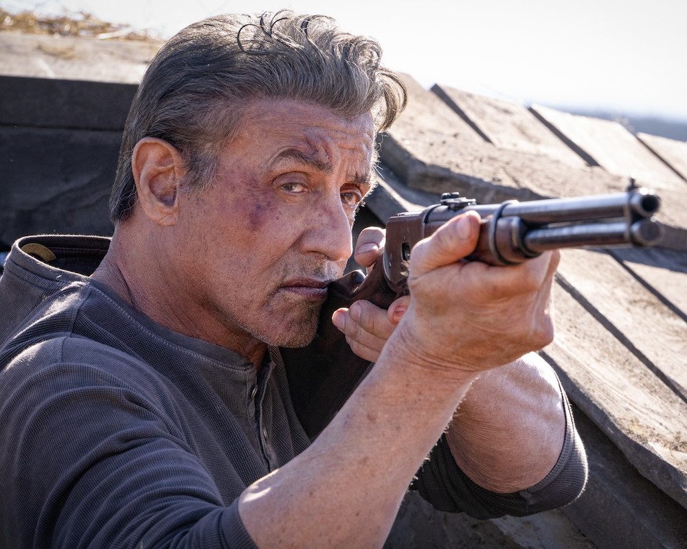 Stallone in Rambo: Last Blood