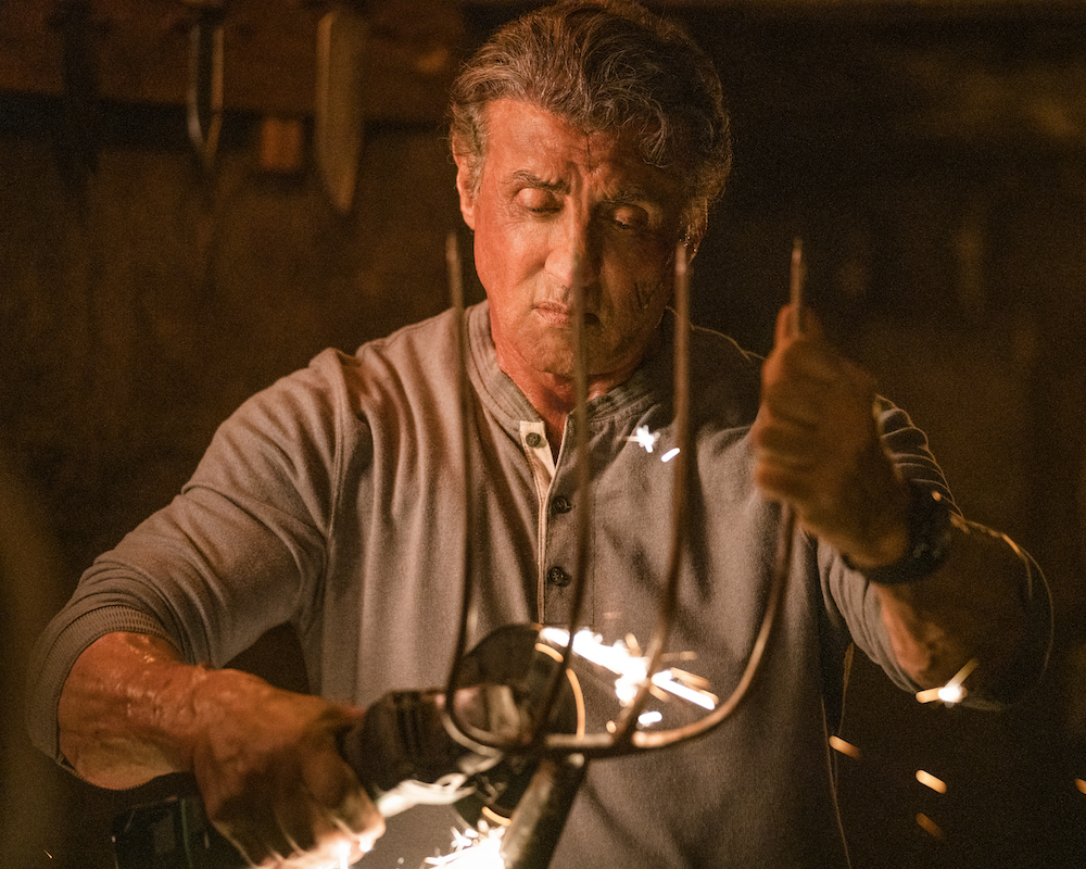 Sly Stallone in Rambo: Last Blood
