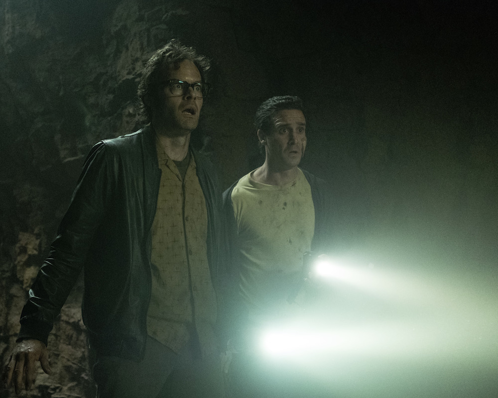 Bill Hader and James Ransone in It: Chapter Two