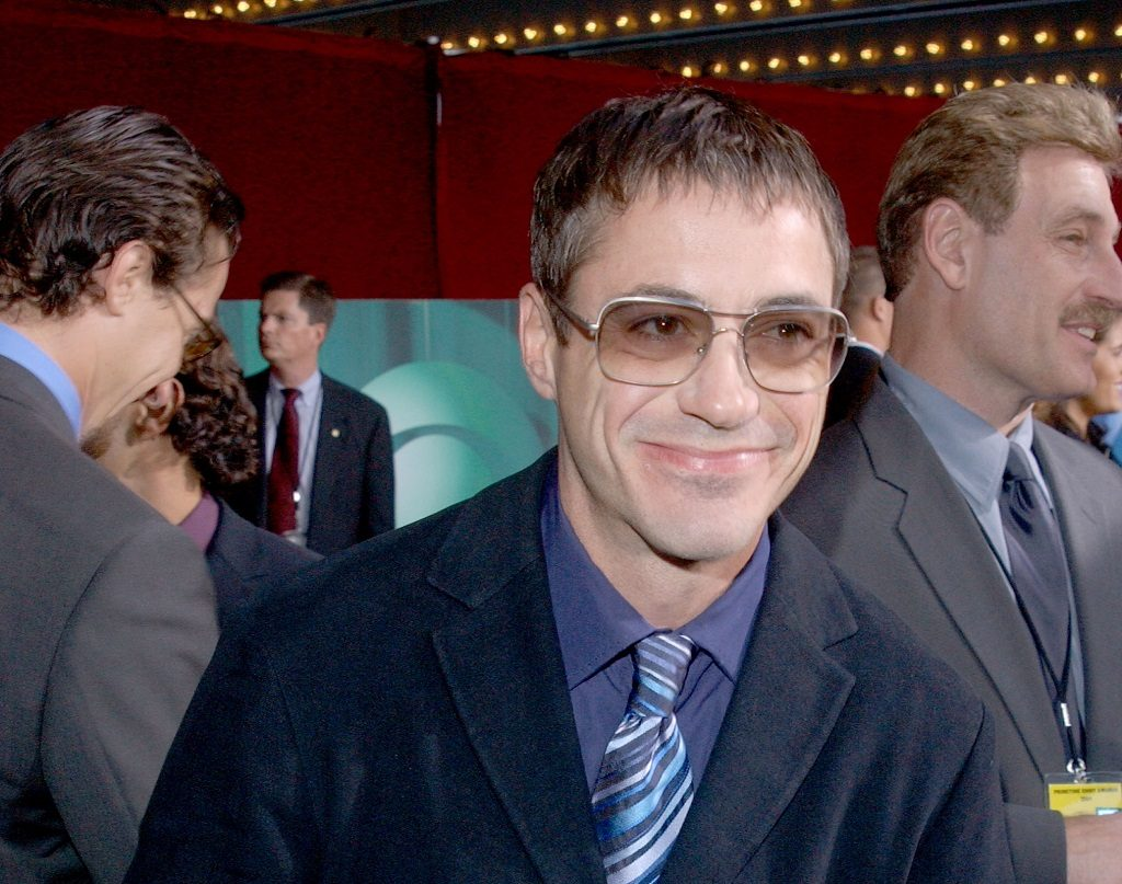 Robert Downey Jr. at the 53rd Primetime Emmy Awards on November 4, 2001