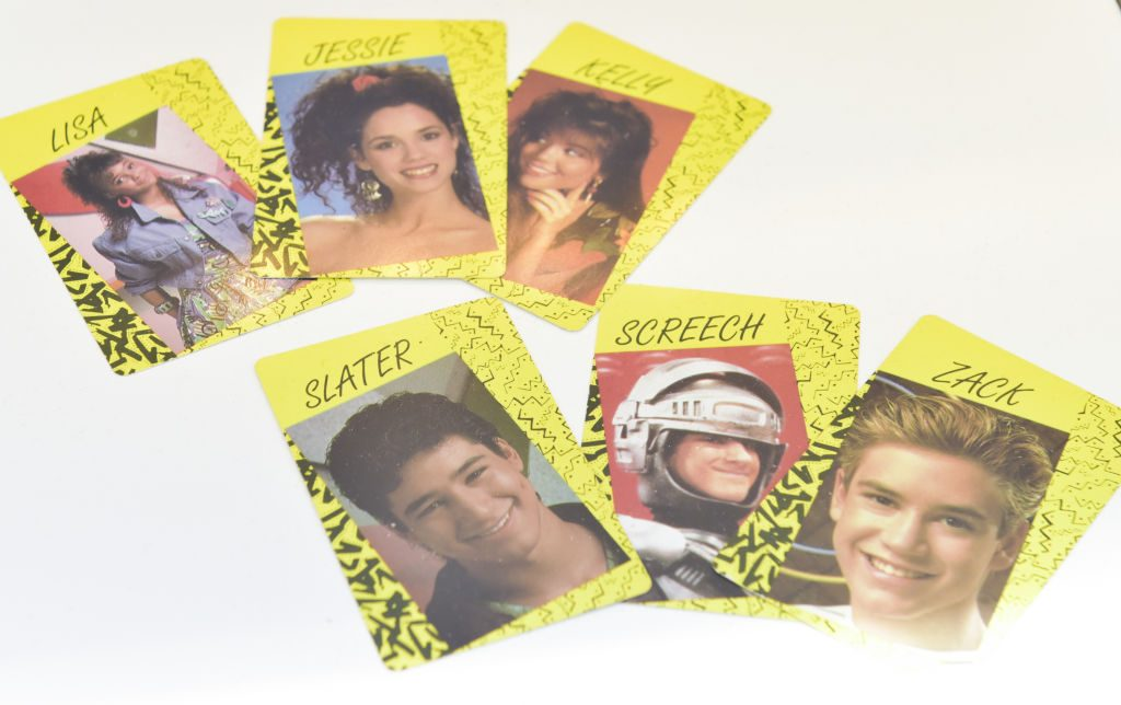 Saved by the Bell trading cards
