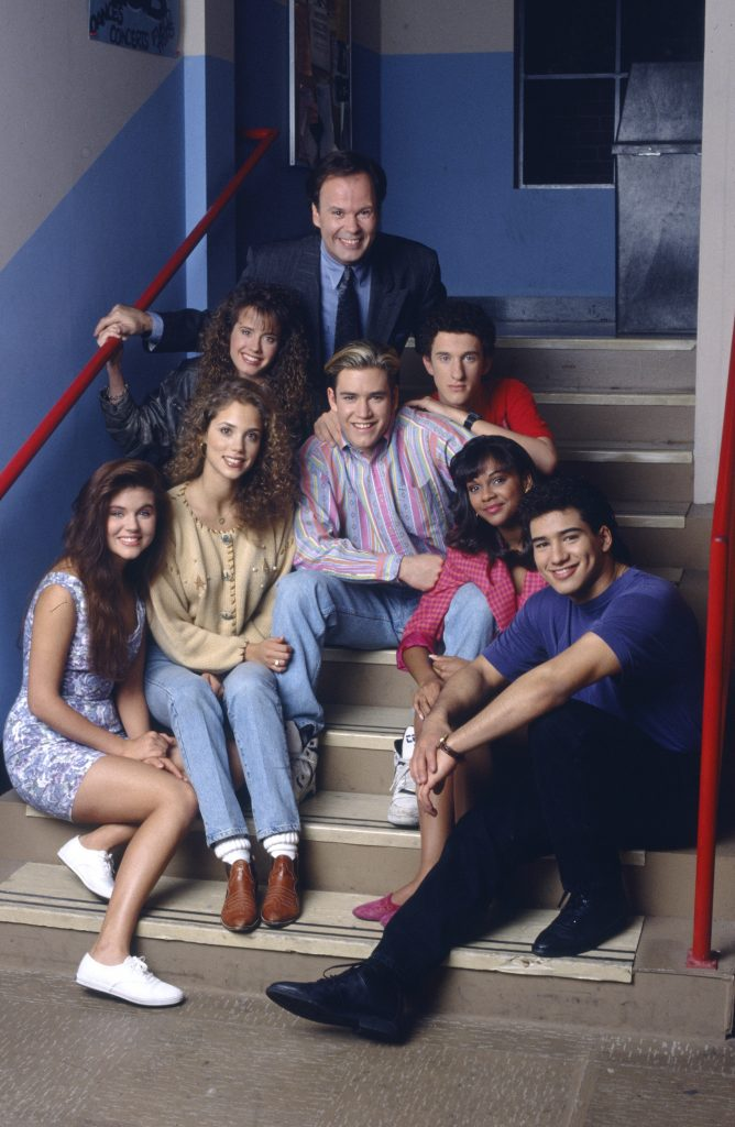 The cast of 'Saved by the Bell' Season 4