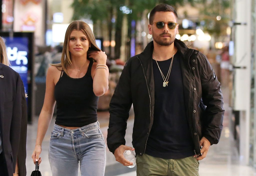 Scott Disick and Sofia Richie make a store appearance in Australia.