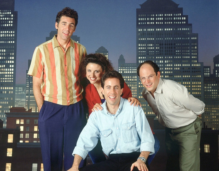 'Seinfeld' cast season 3