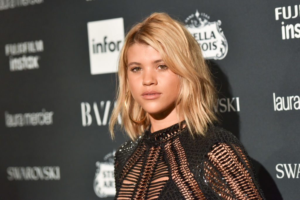 Sofia Richie attends 2017 Harper's Bazaar Icons at The Plaza Hotel.