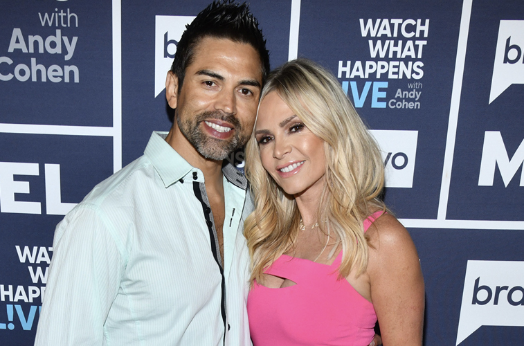 Tamra Judge and her husband Eddie Judge from 'RHOC'