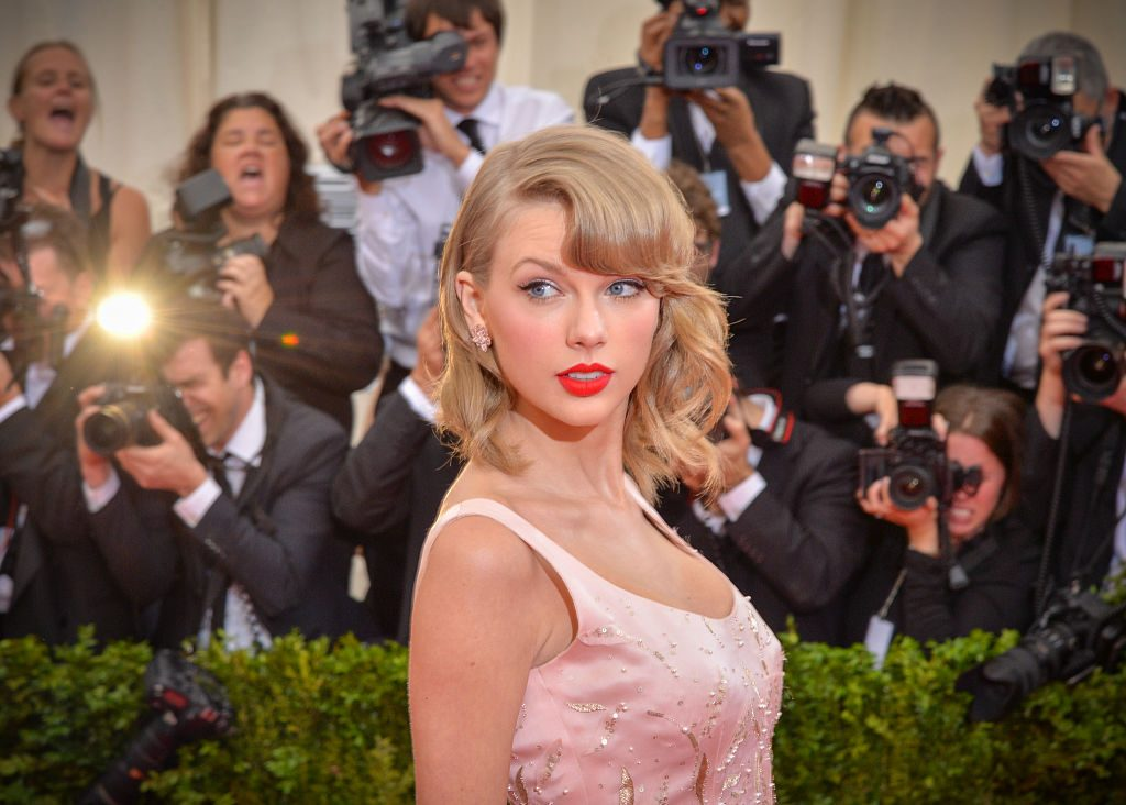 """Taylor Swift attends the """"Charles James: Beyond Fashion"""" Costume Institute Gala at the Metropolitan Museum of Art."""