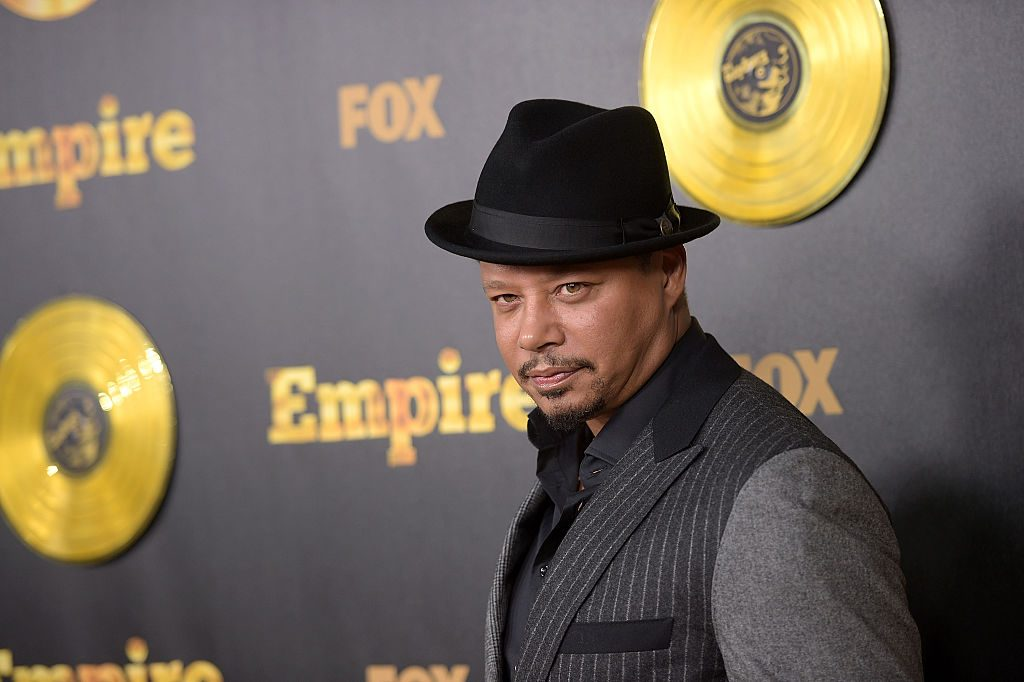 Terrence Howard at the premiere of Fox's 'Empire.'
