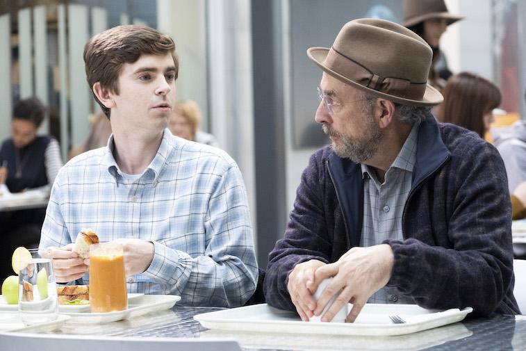 Freddie Highmore and Richard Schiff