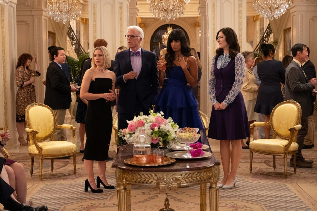 "The Good Place Episode 401/402  ""A Girl From Arizona"""
