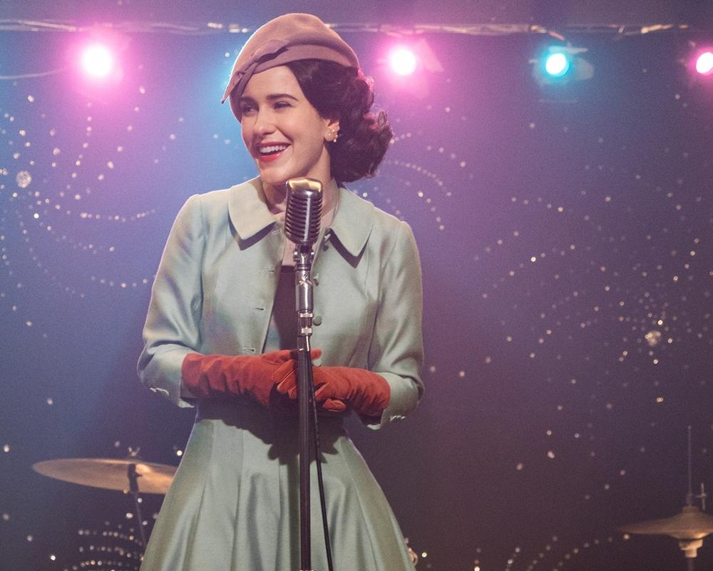 The Marvelous Mrs. Maisel cast member Rachel Brosnahan as Midge