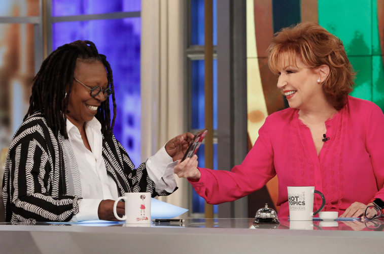 Whoopi Goldberg and Joy Behar, co-hosts of 'The View'