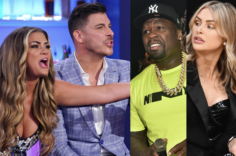 Jax Taylor and Brittany Cartwright blast 50 Cent for going after Lala Kent