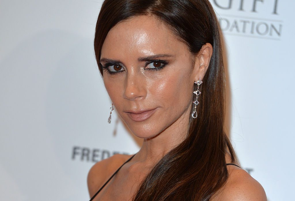 Victoria Beckham at The Global Gift Gala at Four Seasons Hotel on November 30, 2015 in London, England.
